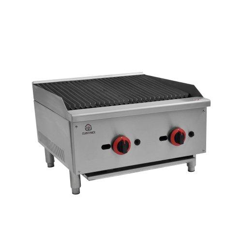 Grill charcoal à gaz - L604mm