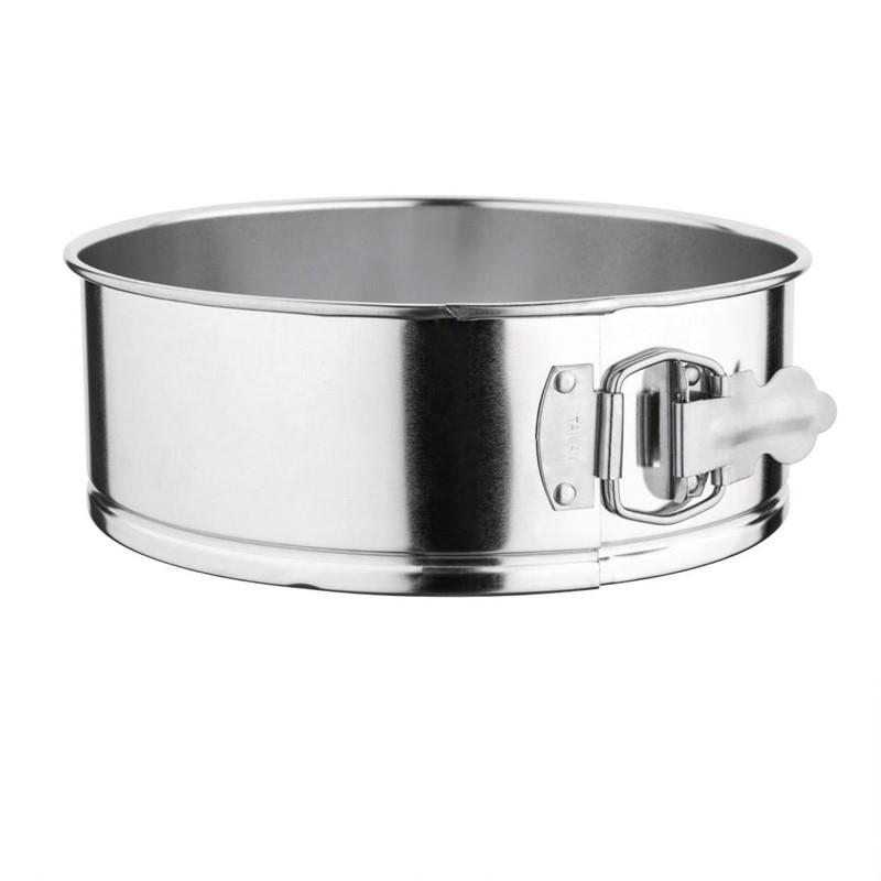 Moule rond à charnière en fer blanc 220mm