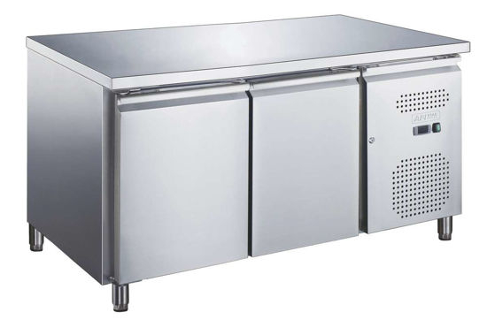 Table réfrigérée - 2 portes - positive