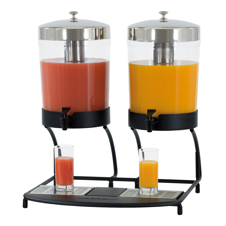 Distributeur de jus de fruit double 2 x 8 litres