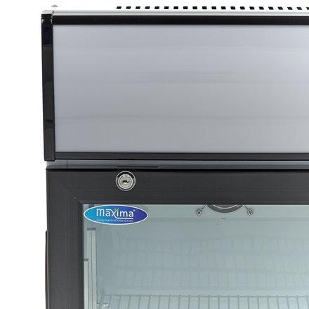 Réfrigérateur à boissons avec tête d'éclairage 80L
