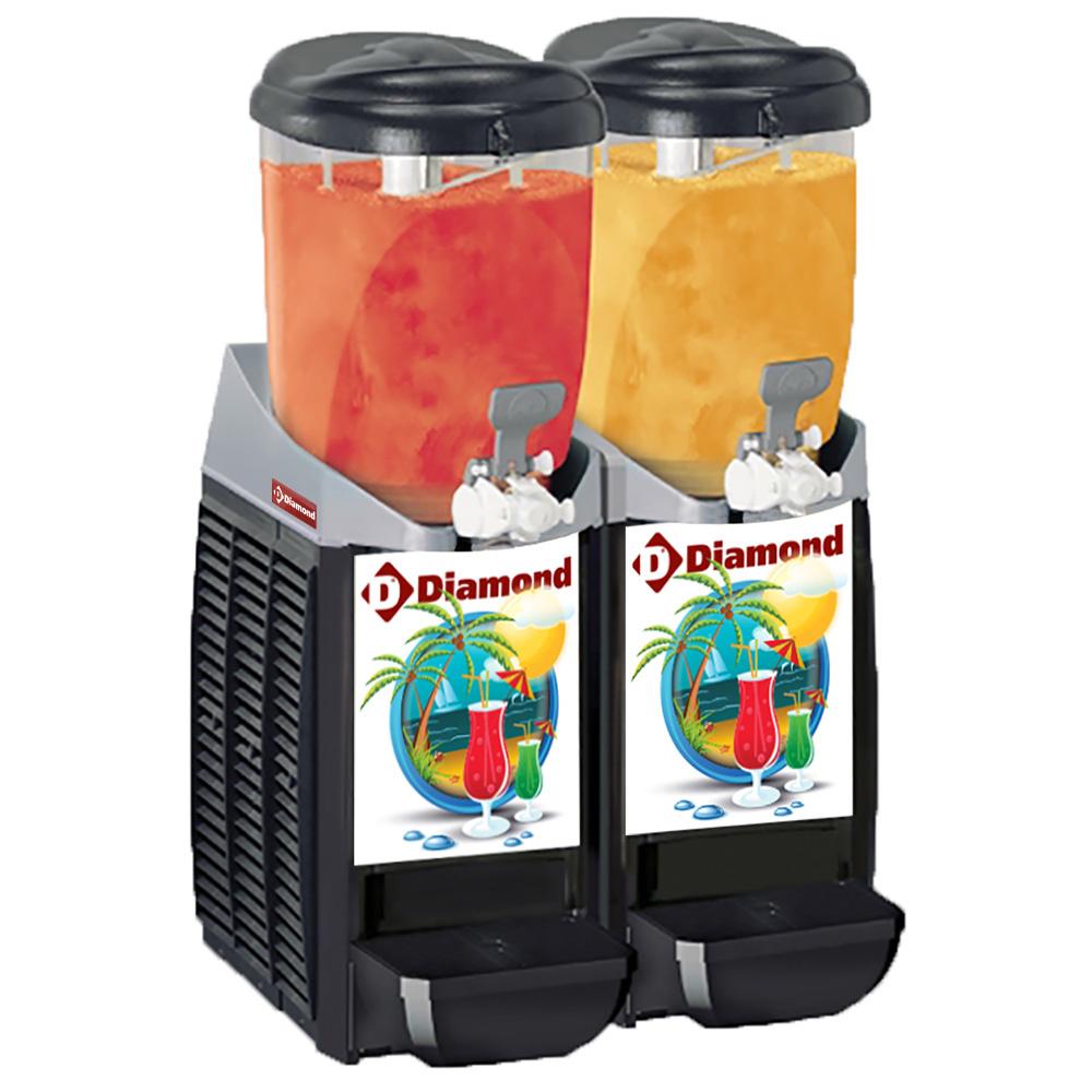 Machine/distributeur granita- 2x 5,5 litres