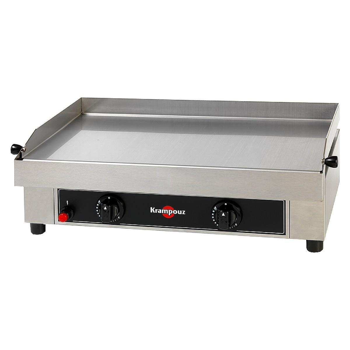Plancha gaz automatic control system