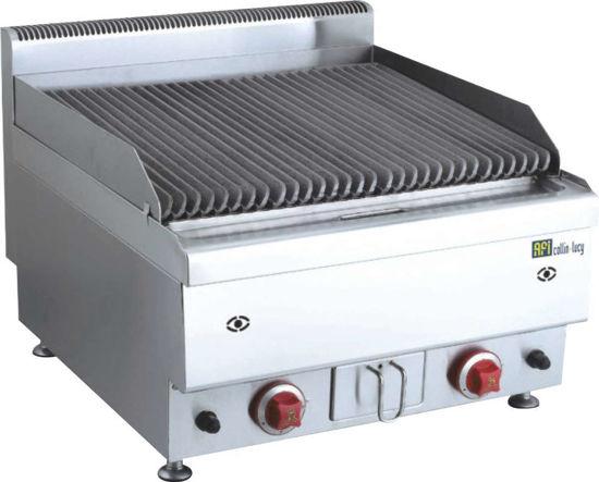 Grill pierre de lave - L600mm
