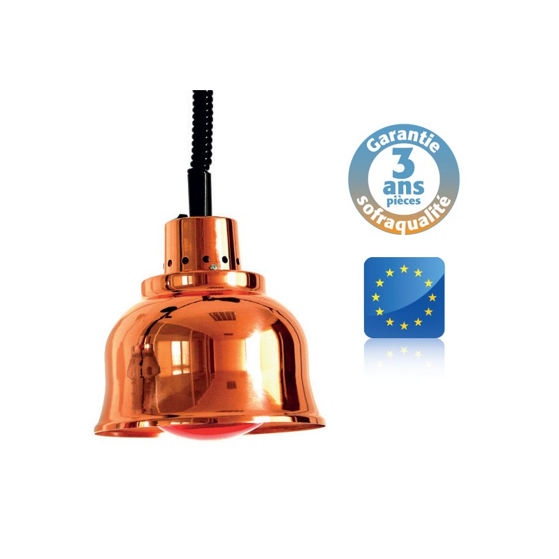 Lampe chauffante suspendue - Infra-rouge - Prestige