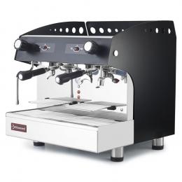 Machine à café expresso 2 groupes, semi-automatique - NOIR