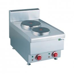 Plaque électrique - 2 zones de cuisson - Top 650