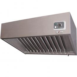 Hotte complète (7/7-1500 M3/h) 120 Pa, variateur, 3 filtres